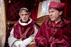 Jeremy Irons as Rodrigo Borgia and Peter Sullivan as Cardinal Ascanio Sforza in The Borgias (Season 2, Episode 4) - Photo: Jonathan Hession/SHOWTIME - Photo ID: TheBorgias_204_0007