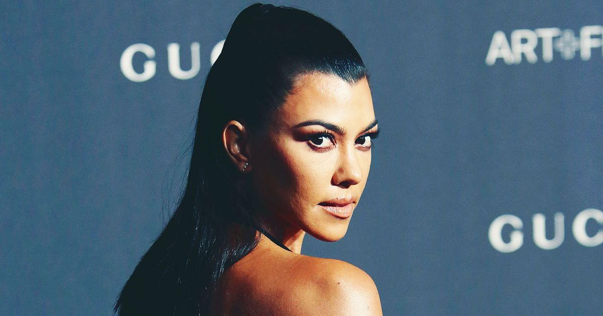Behold, Kourtney Kardashian's Naked Bathtub Birthday Cake