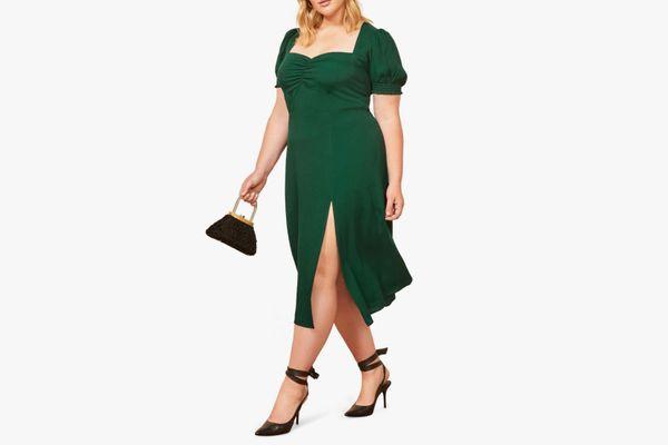 Reformation Lacey Midi Dress