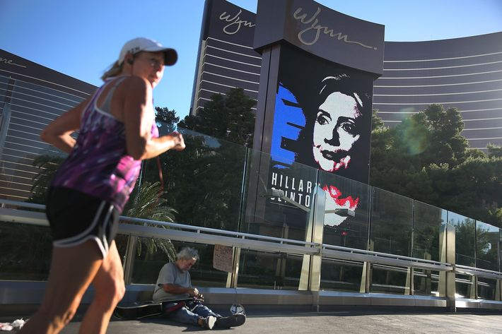 Las Vegas Prepares For First Democratic Presidential Debate