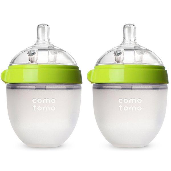 Comotomo Baby Bottle, Two-Count