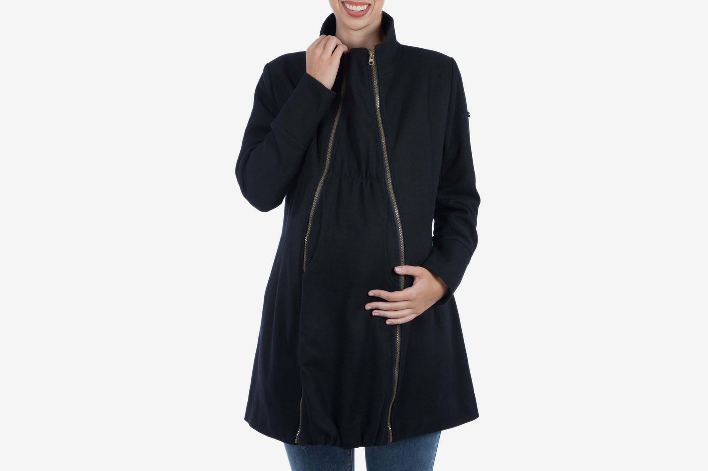 7f8e3d110a0 Modern Eternity Convertible 3-in-1 Maternity Nursing Coat