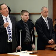 NYPD officer Richard Haste is arraigned on manslaughter charges for allegedly shooting an unarmed 18 year-old teenager, Ramarley Graham, to death in the bathroom of his home on February 2, 2012, in front of his mother and sister.,NYPD officer Richard Haste is arraigned on manslaughter charges for allegedly shooting an unarmed 18 year-old teenager, Ramarley Graham, to death in the bathroom of his home on February 2, 2012, in front of his mother and sister.