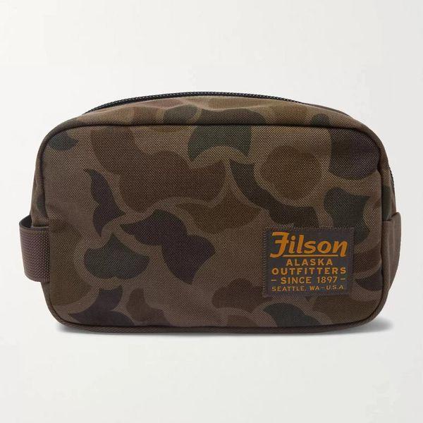Filson Limited Edition Camouflage-Print CORDURA Nylon Wash Bag