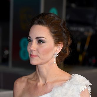 Kate Middleton at the BAFTAs.