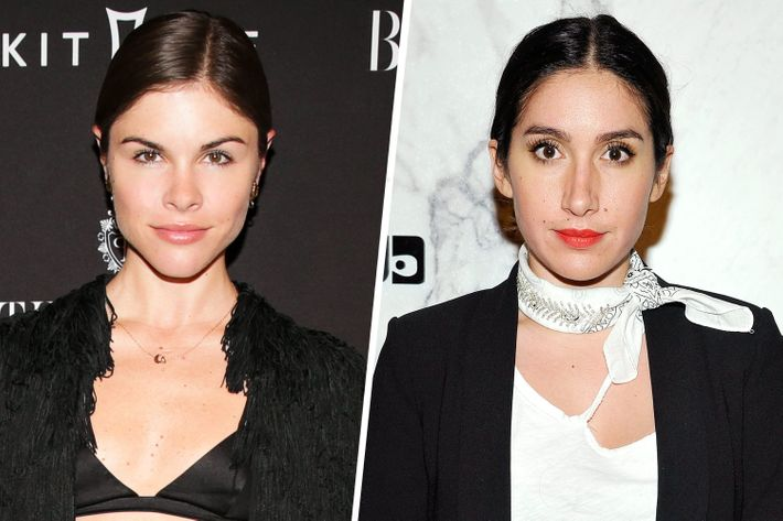 Emily Weiss and Jen Atkin.