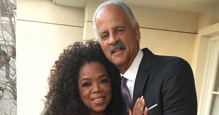 Stedman Made A Rare Appearance On Oprah's Instagram For