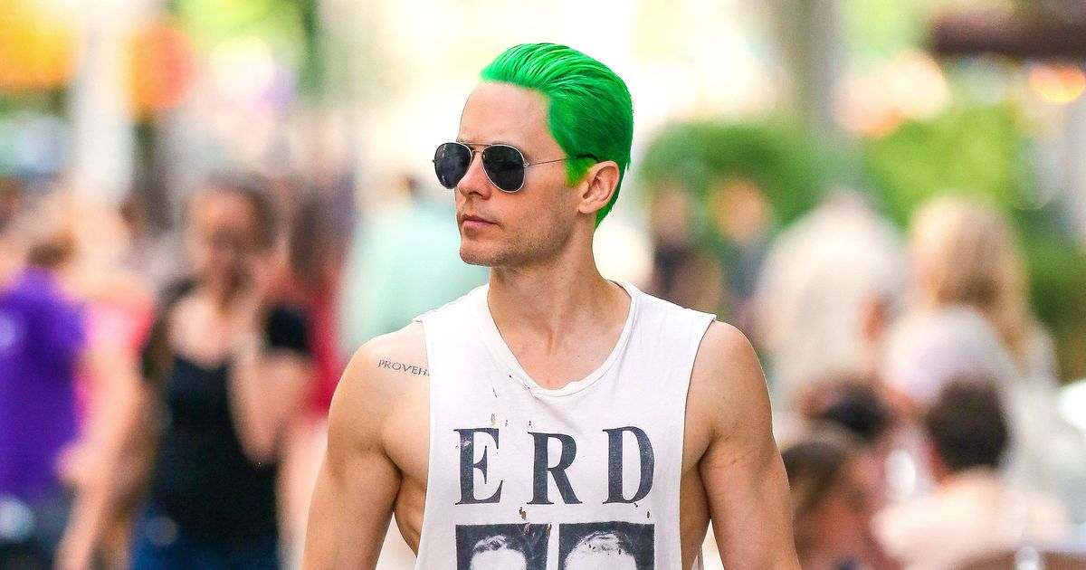 Jared Leto S Green Hair Tests The Limits Of Our Love