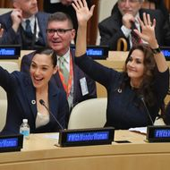 Wonder Woman UN Ambassador Ceremony
