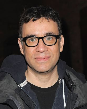 NEW YORK, NY - APRIL 13: Comedian Fred Armisen attends the Blue Man Group's 20th anniversary reunion show after party at The Bowery Hotel on April 13, 2011 in New York City. (Photo by Jemal Countess/Getty Images) *** Local Caption *** Fred Armisen