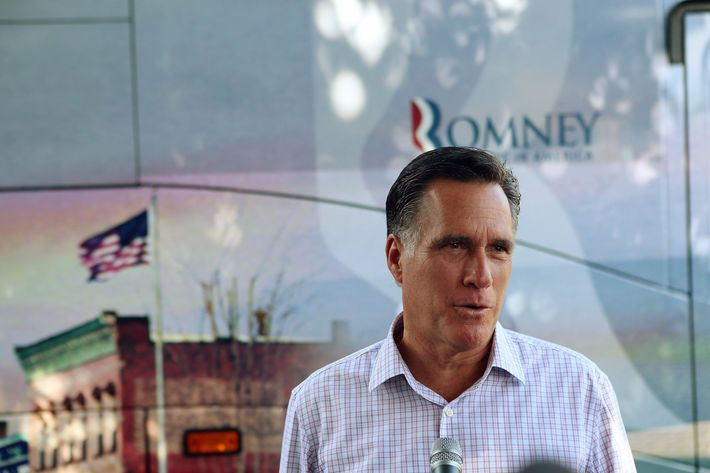 Republican Presidential candidate, former Massachusetts Governor Mitt Romney speaks to the media about President Barack Obama's announcement today of a change in the immigration policy that will allow illegal immigrants brought into the country as children to remain in the United States and apply for work permits as he campaigns during an event at the Milford Ice Cream Social on June 15, 2012 in Milford, New Hampshire.