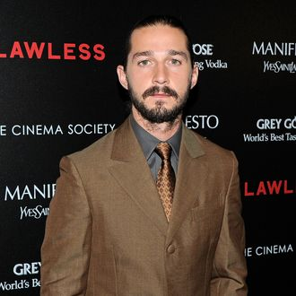 Shia LaBeouf - The Cinema Society & Manifesto Yves Saint Laurent host a screening of The Weinstein Company's