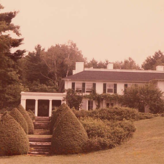 The Old Platt House, Cornish, New Hampshire.