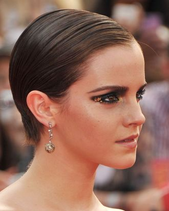 NEW YORK, NY - JULY 11: Actress Emma Watson attends the New York premiere of