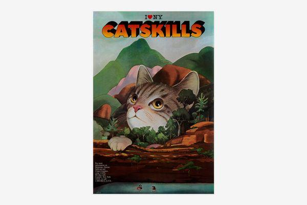 Milton Glaser: I Love NY Catskills Poster