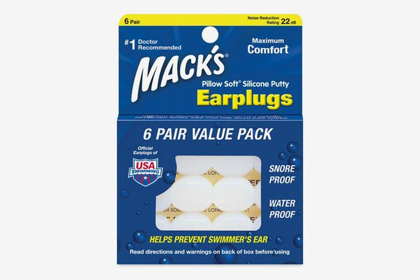 Mack's Pillow Soft Silicone Earplugs, 12-pack