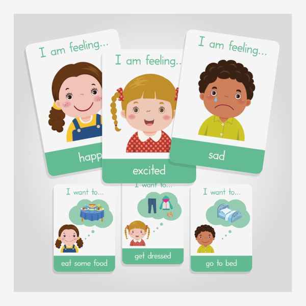 Emotions Flashcards + Daily Activities Flashcards