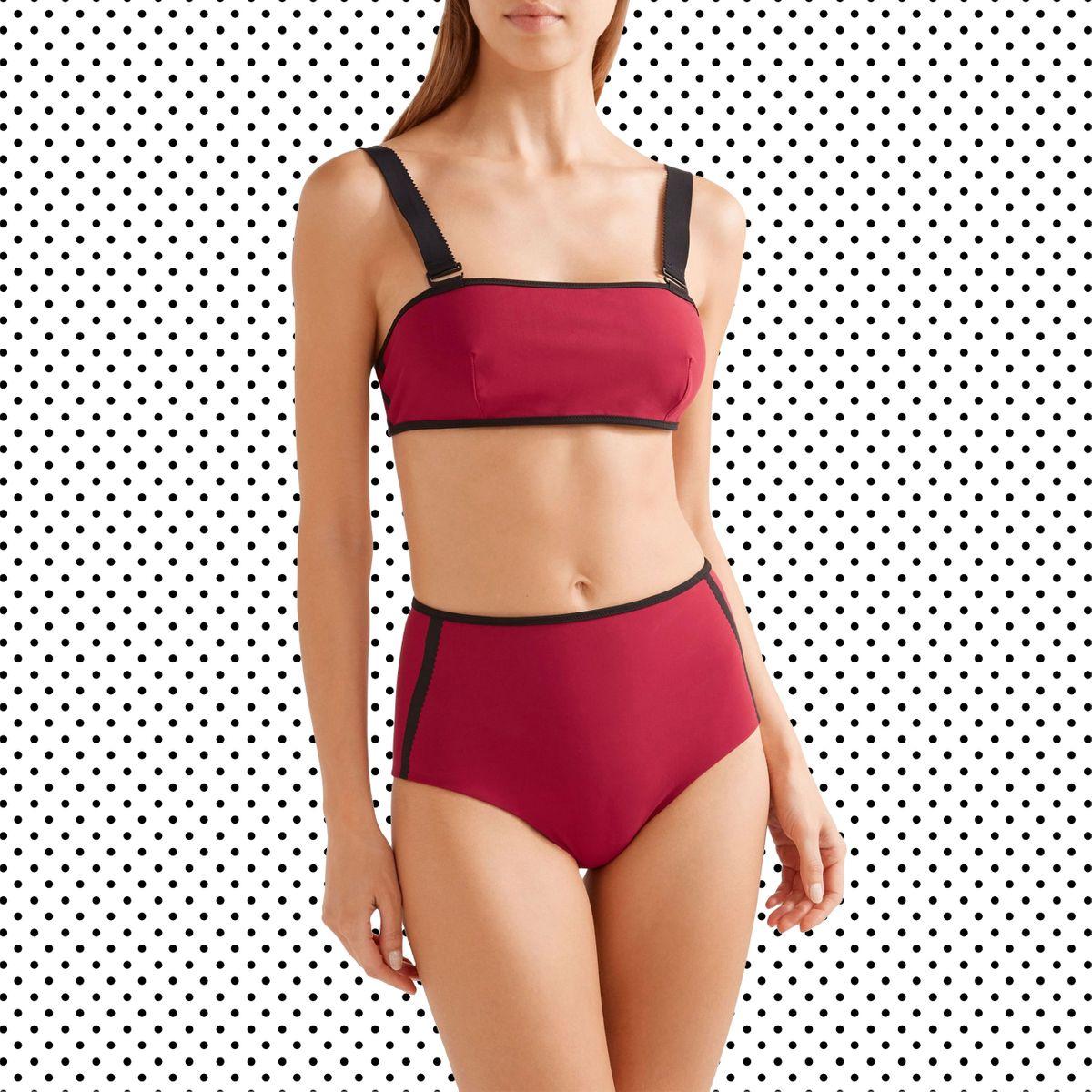 6a1d79229 21 Cute High-Waisted Bikinis to Wear This Summer
