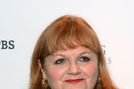"Actress Lesley Nicol arrives at The Hollywood Reporter screening of PBS Masterpiece's ""Downton Abbey"" Season 3 on December 7, 2012 in West Hollywood, California."
