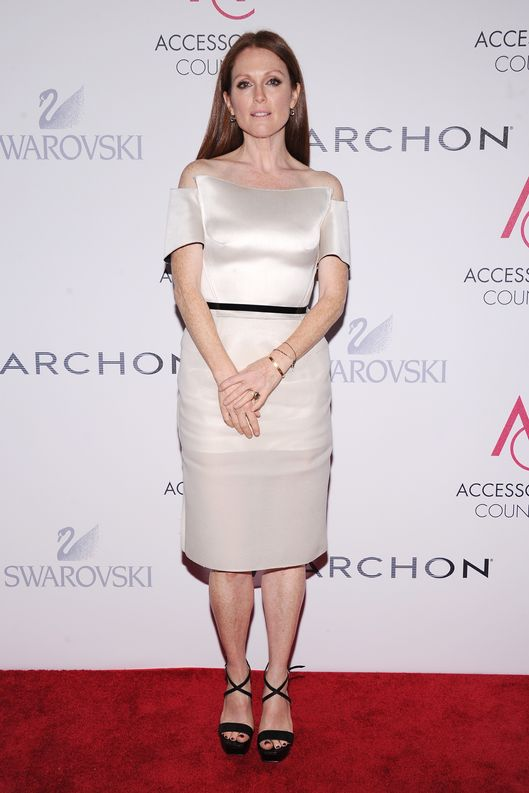 Actress Julianne Moore attends the 16th Annual ACE Awards presented by the Accessories Council at Cipriani 42nd Street on November 5, 2012 in New York City.