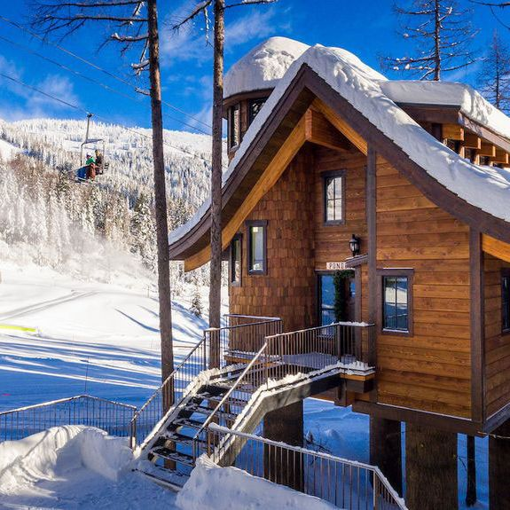 Slopeside Two-Bedroom in Whitefish, Montana
