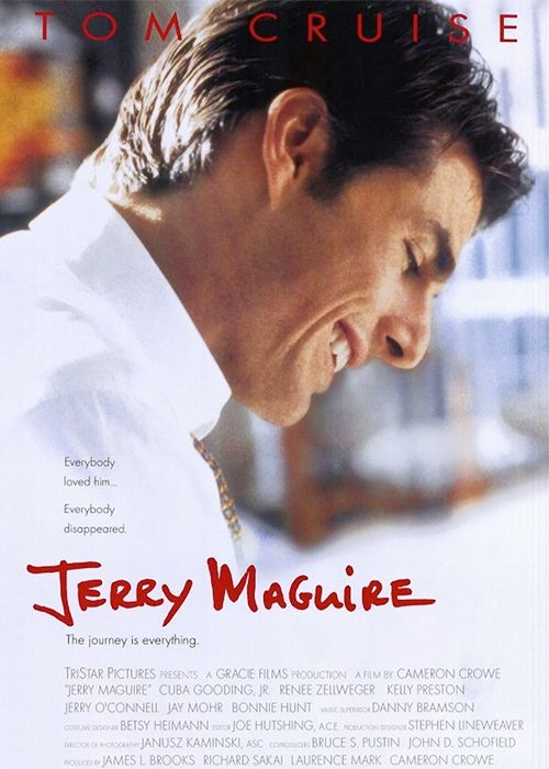 The original screenplay of <em>Jerry Maguire</em>