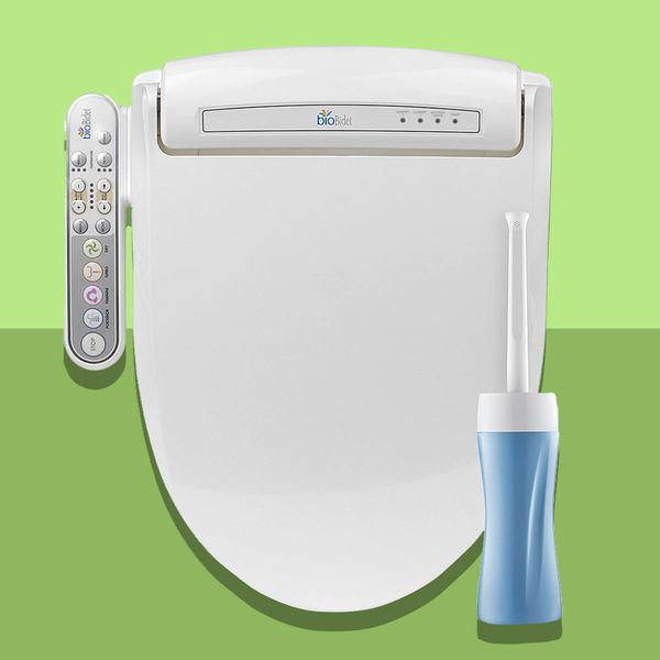 Bio Bidet Prestige Electric Bidet Toilet Seat Travel Bundle