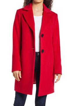 Sam Edelman Wool-Blend Coat