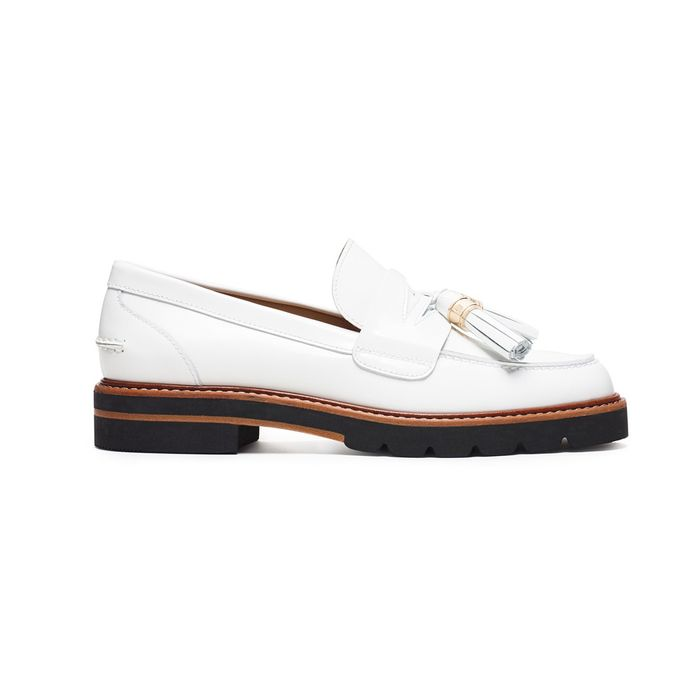 4b6d3e5b944 Treat Yourself Friday  Stuart Weitzman s White-Hot Loafers