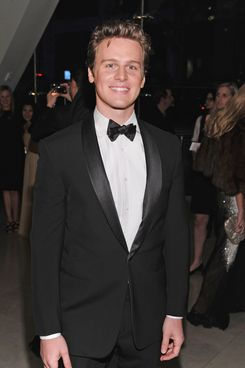 NEW YORK, NY - OCTOBER 24:  Jonathan Groff attends an evening with Ralph Lauren hosted by Oprah Winfrey and presented at Lincoln Center on October 24, 2011 in New York City.  (Photo by Dimitrios Kambouris/Getty Images for Ralph Lauren)