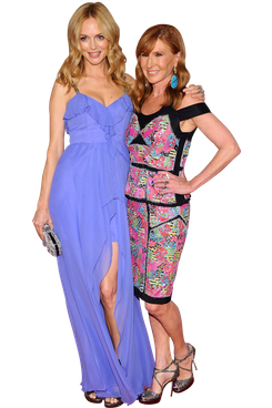 Heather Graham and Nicole Miller attend the 2012 CFDA Fashion Awards