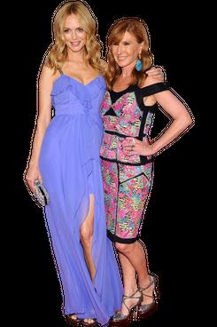 Heather Graham and Nicole Miller.