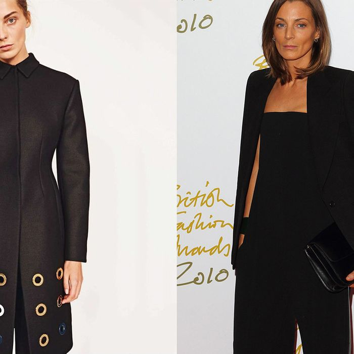 9482b5649270 Daria Werbowy Morphs Into Phoebe Philo in New Céline Ads