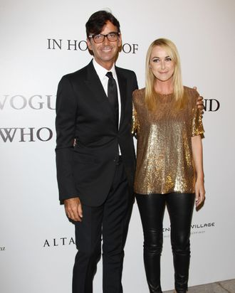 Patrizio di Marco and Frida Giannini.