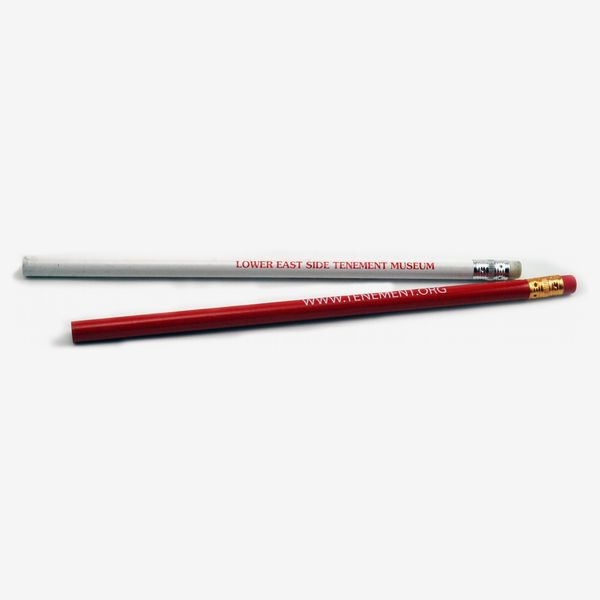 Tenement Museum Pencil