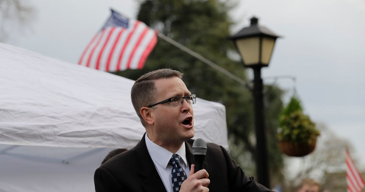 Washington State Democrats Are Calling on the GOP to Remove an Extremist From Its Ranks