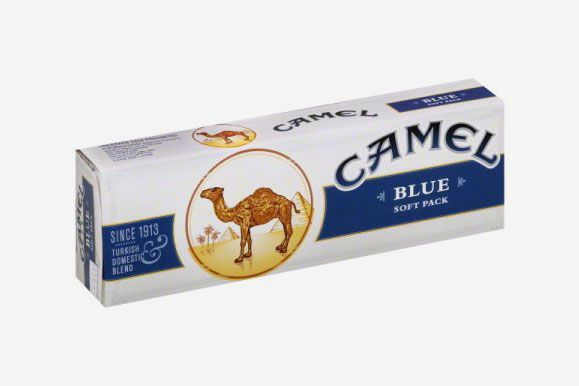 Camel Blue King Soft Cigarettes, 1 Carton