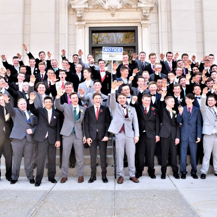 The boys of the Baraboo class of 2019.