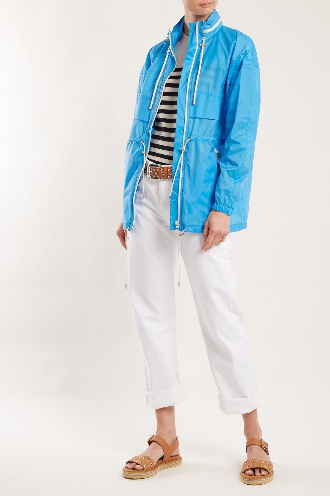 Isabel Marant Etoile Cranden Lightweight Hooded Jacket