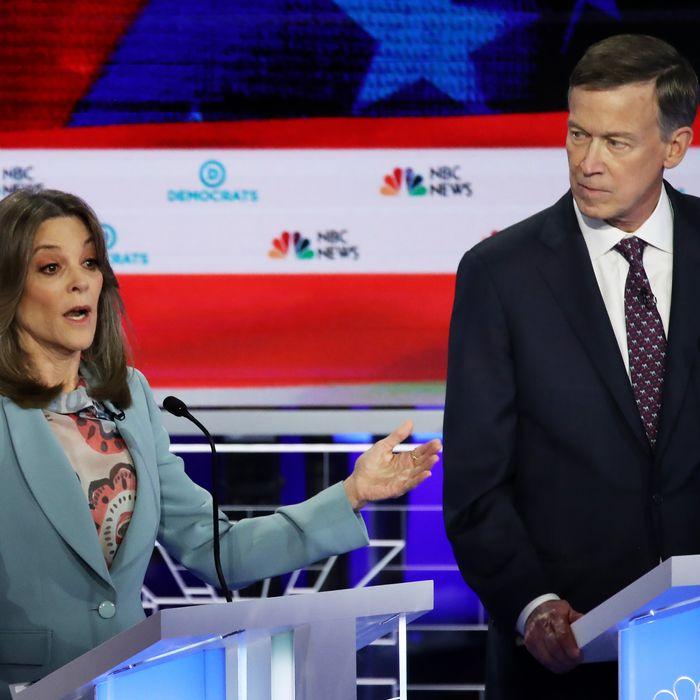 Marianne Williamson's Weirdest Debate Moments