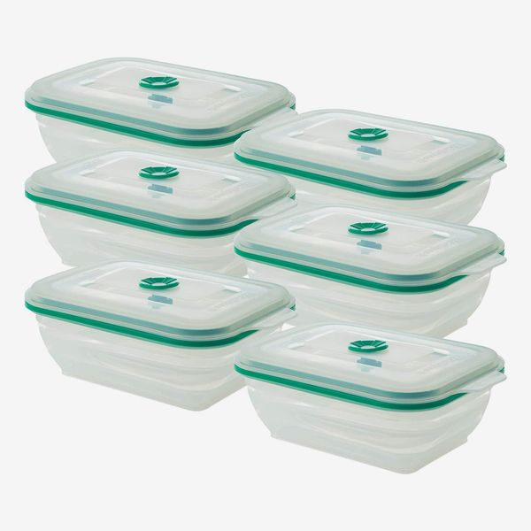 Collapse-It Silicone Food-Storage Containers