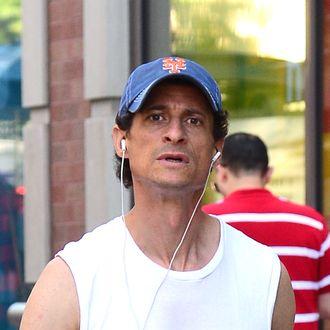Celebrity Sightings In New York City - July 17, 2014