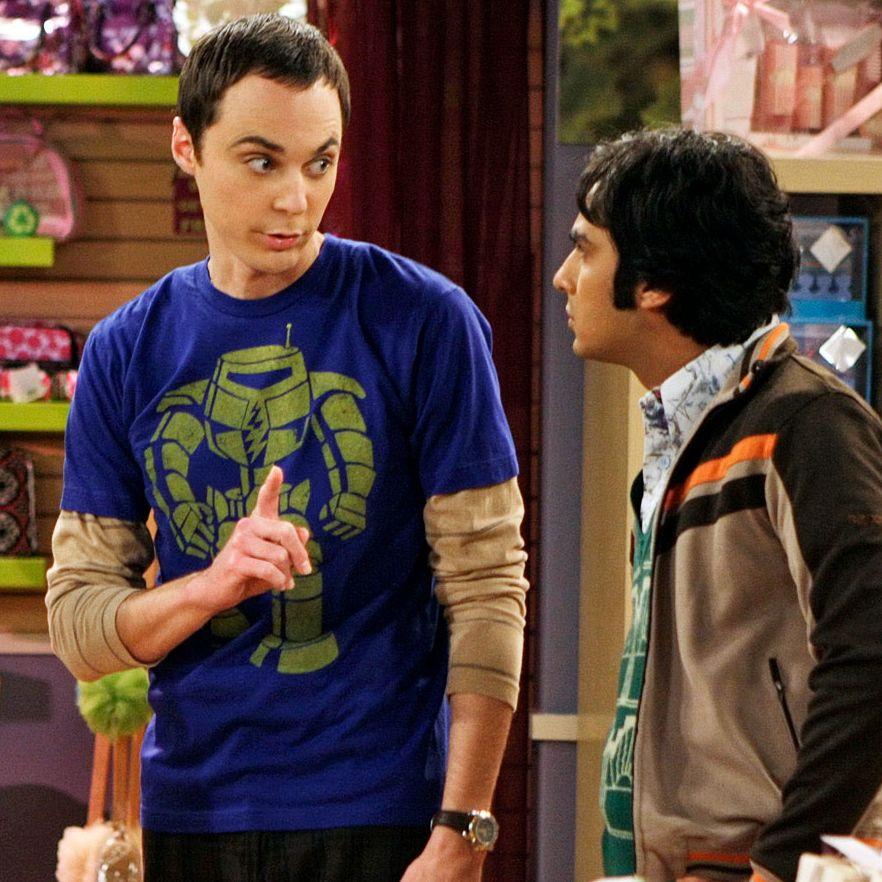 The Big Bang Theory Girls Raj Superhero Sweatshirt