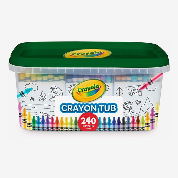 Crayola 240 Crayons, Bulk Crayon Set