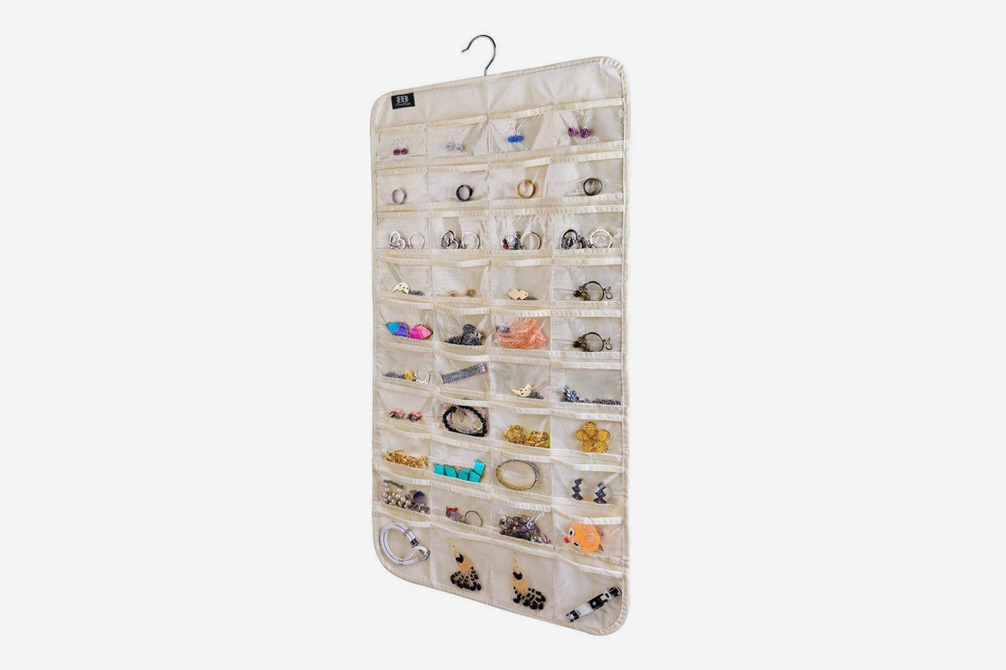 brotrade Hanging 80 Pocket Jewelry Organizer
