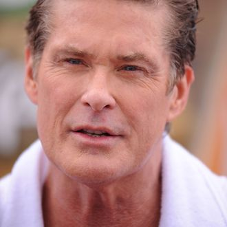 David Hasselhoff Patrols Main Beach
