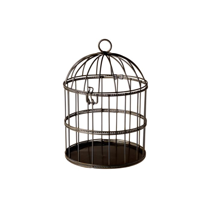 Try not to find out why the caged bar patron sings.