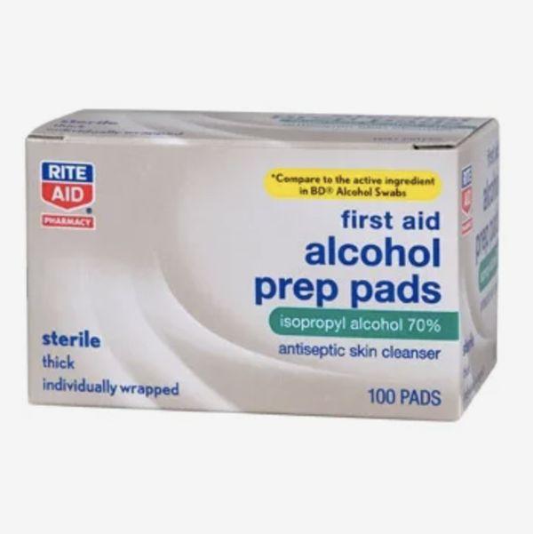 Rite Aid First Aid Alcohol Prep Pads