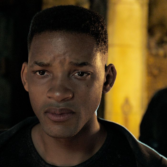 Will Smith (and Will Smith) in Gemini Man.