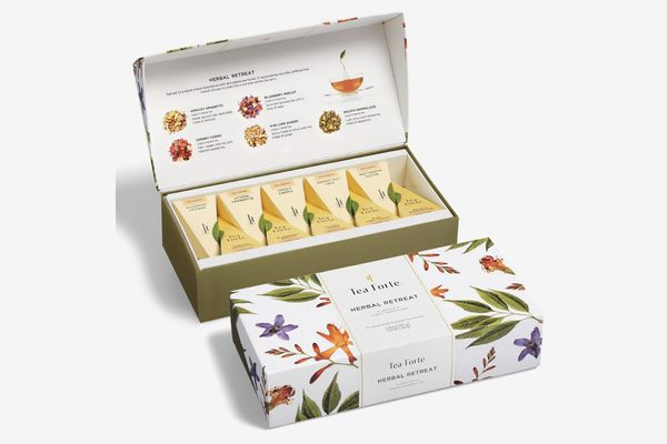 Tea Forté Herbal Retreat Petite Presentation Box Tea Sampler